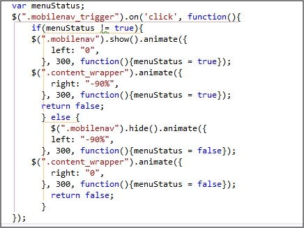 Javascript code with a weird error in IE7